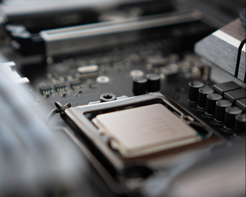 intel processors lock into motherboard sockets